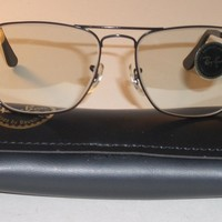 52MM BAUSCH & LOMB RAY BAN PHOTOIGRAY CHANGEABLES CARAVAN SUNGLASSES (BRAND NEW)