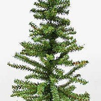 Darice Christmas Artificial Pine Tree on Wood Base, 24-Inch