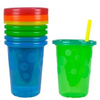The First Years Take & Toss Straw Sippers (4-Pack)
