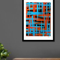 «Abstract | Brush strokes», Numbered Edition Fine Art Print by eDrawings38 - From $19 - Curioos