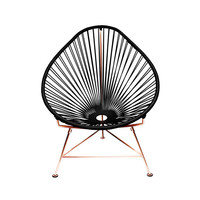 I liked this design on #Fab. Acapulco Chair Black Copper
