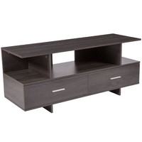 DCCKION Fields Wood Grain Finish TV Stand and Media Console