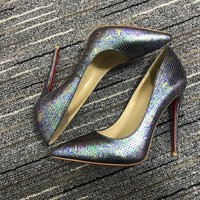 Christian Louboutin Cl Pumps High Heels Reference #02bk45 - Best Deal Online