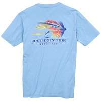 Gotta Fly Tee Shirt in Sky Blue by Southern Tide
