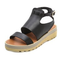 See by Chloé Ankle Strap Flat Sandals
