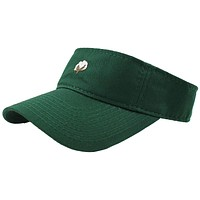 The Boll Visor in Hunter Green by Cotton Brothers