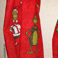 GRINCH How the Grinch Stole Christmas INFINITY SCaRF GRiNFiNiTY - TReNDY Boutique Designs by Sugarbear in Red Green or Black - Fabulous