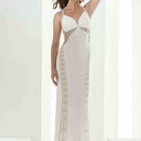 Jasz Couture Open Back Fitted Dress 5605