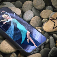 Elza Disney Frozen iPhone Case, iPhone 4/4S, 5/5S, 5c, Samsung S3, S4 Case, Hard Plastic and Rubber Case By Dsign Star 08