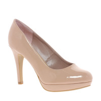 New Look Wide Fit Siv Court Shoes at asos.com