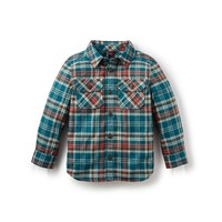 Tea Collection Luis Flannel Baby Shirt