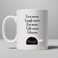 Gilmore Girls A Year in the Life Coffee Mug