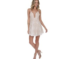 Ivory Scoop Me Up Dress