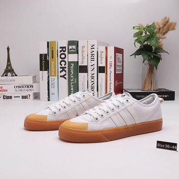 """""""Adidas x Nizza"""" Women All-match Campus Sport Casual Multicolor Canvas Plate Shoes Sneakers"""