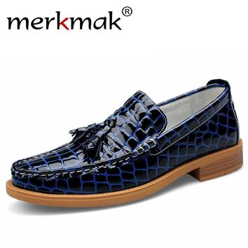 Men's Loafers Genuine Leather - Summer Casual