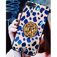 Luxury Print iPhone Case With Kickstand