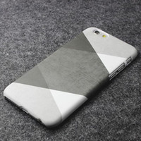 Simple grey system geometry phone case for iPhone 7 7plus 6 6S 6plus 6Splus 1110J01