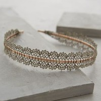 Lace Filigree Headband by Anthropologie