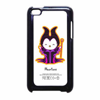 Hello Kitty Love Maleficent Disney iPod Touch 4th Generation Case