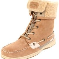 Sperry Top-Sider Women's Ladyfish Boot,Linen Suede,6 M US