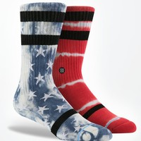 Stance Patriot Crew Socks - Mens Socks - Red/White/Blue - One