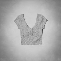Elaine Cropped Top