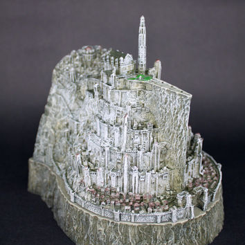 """Lord of the Rings Return of the King Minas Tirith Sideshow Weta Collectible 5"""""""
