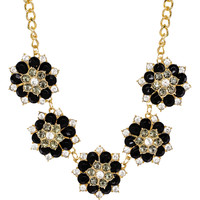 Leandra Necklace Set - Black