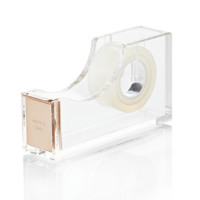 kate spade new york Gold and Acrylic Tape Dispenser