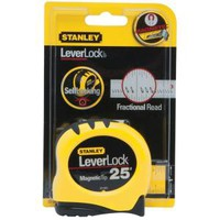 Stanley 25 ft. Lever Lock Tape Measure STHT33281L at The Home Depot - Mobile
