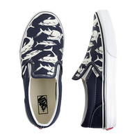 crewcuts Boys Vans Slip-On Sneakers With Glow-In-The-Dark Sharks