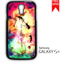 Disney New Peter Pan Quote Samsung Galaxy S4 Case