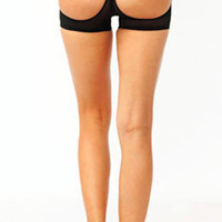 Butt Lift Cut-Out Boy Shorts (more colors)- FINAL SALE