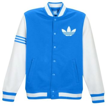 adidas Originals Fleece Varsity Jacket - Men's