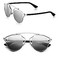 Dior - Dior So Real Metal & Plastic Sunglasses - Saks Fifth Avenue Mobile