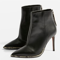 HARPER High Ankle Boots | Topshop