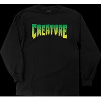 Creature Logo Longsleeve Small Black