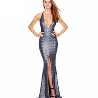 Roxana Sequin Maxi Dress
