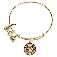 Mickey Mouse Filigree Bangle by Alex and Ani - Gold