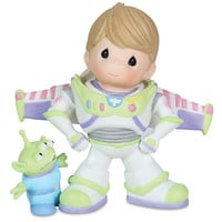 Disney ''To Infinity and Beyond'' Buzz Lightyear and Space Alien Figurine by Precious Moments | Disney Store