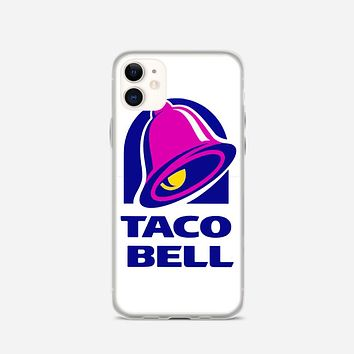 Taco Bell  Tshirt White iPhone 11 Case