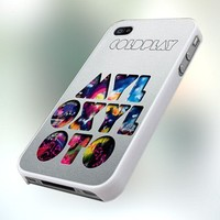 Coldplay Mylo Xyloto pb0194 Design For IPhone 4 or 4S Case / Cover