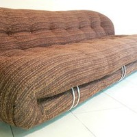 Tobia Scarpa - A large Soriana sofa designed by Tobia Scarpa for Cassina, 1970s. (Large sofa only) by Tobia Scarpa for Sale at Deconet