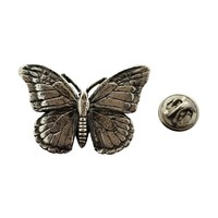 Monarch Butterfly Pin ~ Antiqued Pewter ~ Lapel Pin