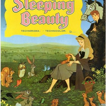 Sleeping Beauty 11x17 Movie Poster (1959)