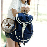 HOT Vintage Super New School bags canvas backpack Bookbag Girls' Canvas Satchel