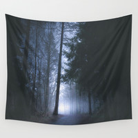 Some rainbows lie Wall Tapestry by HappyMelvin