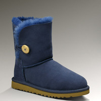 UGG® Bailey Button Boots for Kids | Childrens Sheepskin Boots at UGGAustralia.com