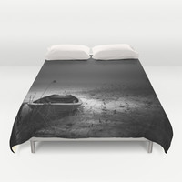 I cant go home Duvet Cover by HappyMelvin