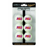 Arizona State Sun Devils NCAA Table Tennis Balls (6pc)